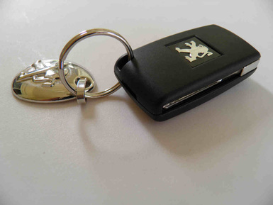 Car remote key battery replace