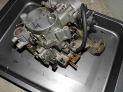 Carburetor removal
