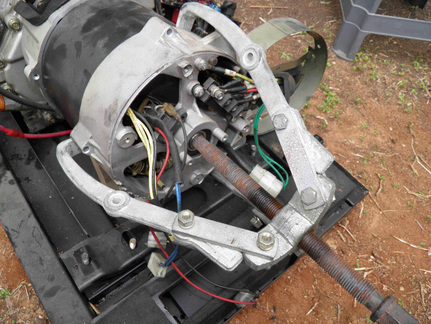 how to separate the alternator