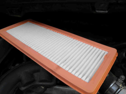 How to replace the air filter