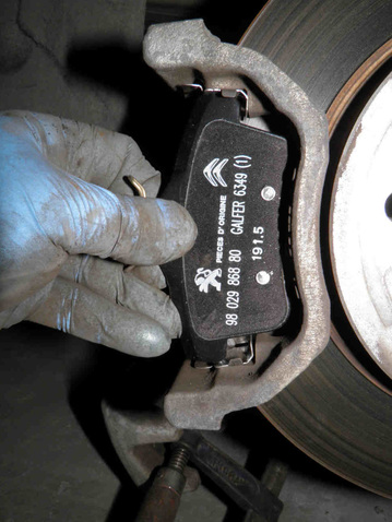 How to replace rear brake pads