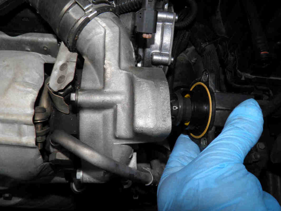 How To Replace The Turbo Dump Valve Compressor Discharge Solenoid Driver Circuit At Wastegate Connector And Unplug Electrical Unscrew Its 3 Holding Bolts Take It Out Clean Seat With A Soft Cloth Refit New