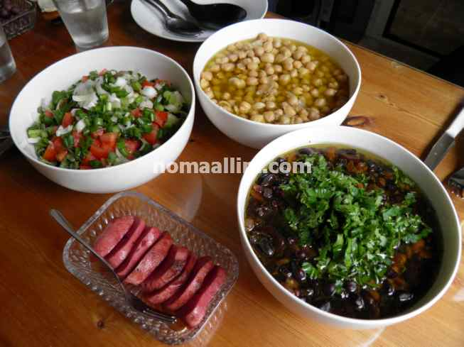 foul medames and balila lebanese brunch