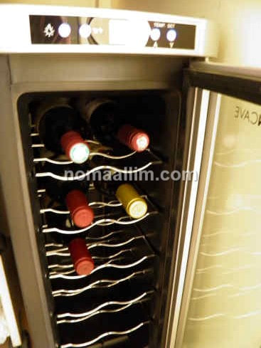 Fixing a warm wine cooler