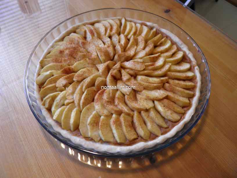 apple tart no sugar
