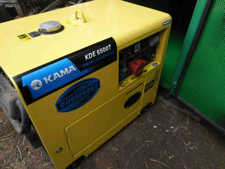 Kama Kipor engine assembly